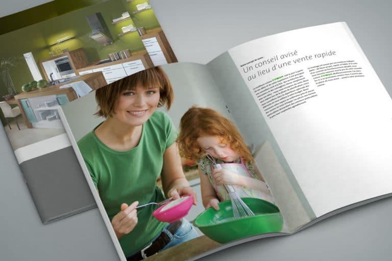 Friwa Küchen · Katalog-Design · Grafikstudio Carreira · Susi Carreira · Werbeagentur Bad Oeynhausen · Minden · Bünde