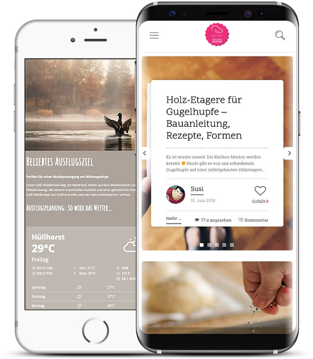 Grafikstudio Carreira · Susi Carreira · Werbeagentur Bad Oeynhausen · Minden · Bünde · Responsive Webdesign