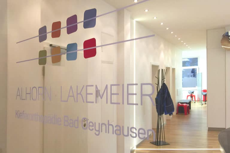 Alhorn & Lakemeier · Praxismarketing · Praxisbeschriftung · Logo-Design · Grafikstudio Carreira · Susi Carreira · Werbeagentur Bad Oeynhausen · Minden · Bünde