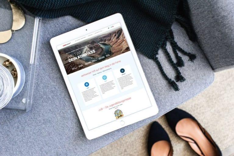 Weltweiser ·WordPress · Schulung · Webdesign · Grafikstudio Carreira · Susi Carreira · Werbeagentur Bad Oeynhausen · Minden · Bünde