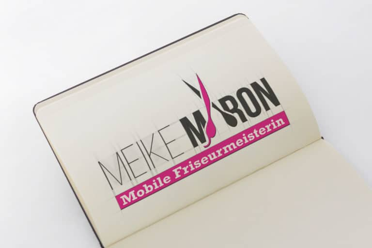 Meike Maron · Mobile Friseurmeisterin · Logo Design · Corporate Design · Grafikstudio Carreira · Susi Carreira · Werbeagentur Bad Oeynhausen · Minden · Bünde