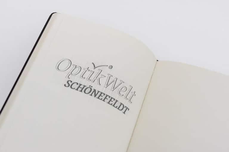 Relaunch Optikwelt Schönefeldt · Logo Design · Corporate Design · Grafikstudio Carreira · Susi Carreira · Werbeagentur Bad Oeynhausen · Minden · Bünde