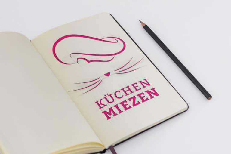 Küchen-Miezen · Logo Design · Corporate Design · Grafikstudio Carreira · Susi Carreira · Werbeagentur Bad Oeynhausen · Minden · Bünde