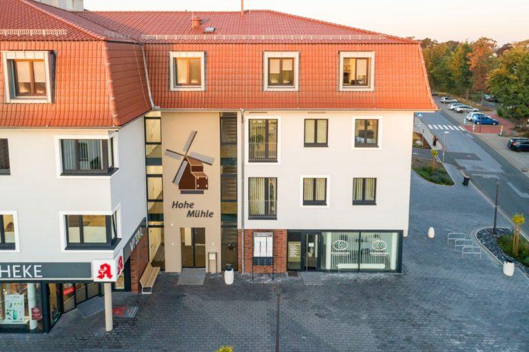 Gesundheitszentrum Hohe Mühle · Logo-Entwicklung · Grafikstudio Carreira · Susi Carreira · Werbeagentur Bad Oeynhausen · Minden · Bünde