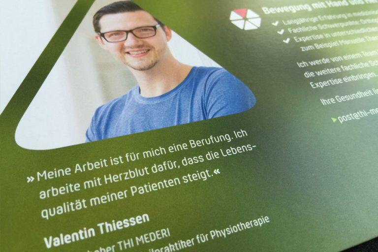 Thi Mederi · Logo-Entwicklung · Praxisbeschriftung · Grafikstudio Carreira · Susi Carreira · Werbeagentur Bad Oeynhausen · Minden · Bünde