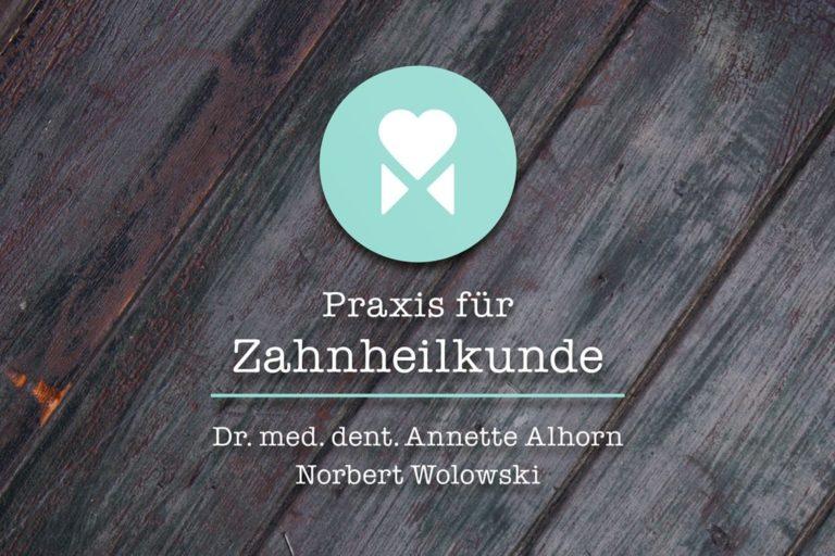 Alhorn & Wolowski · Logo-Design · Praxismarketing · Grafikstudio Carreira · Susi Carreira · Werbeagentur Bad Oeynhausen · Minden · Bünde