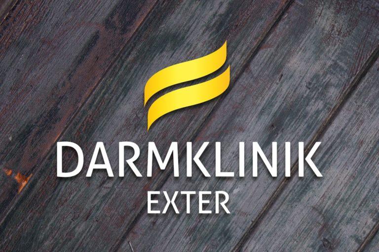 Darmklinik Exter ·Logo-Design · Grafikstudio Carreira · Susi Carreira · Werbeagentur Bad Oeynhausen · Minden · Bünde