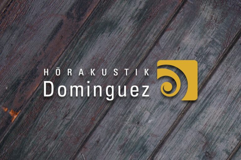 Hörakustik Dominguez · Logo-Design · Webdesign · Marketing · Grafikstudio Carreira · Susi Carreira · Werbeagentur Bad Oeynhausen · Minden · Bünde
