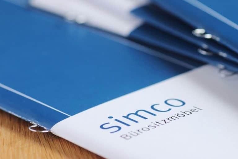 Preis- & Typenlistengestaltung der Firma Simco