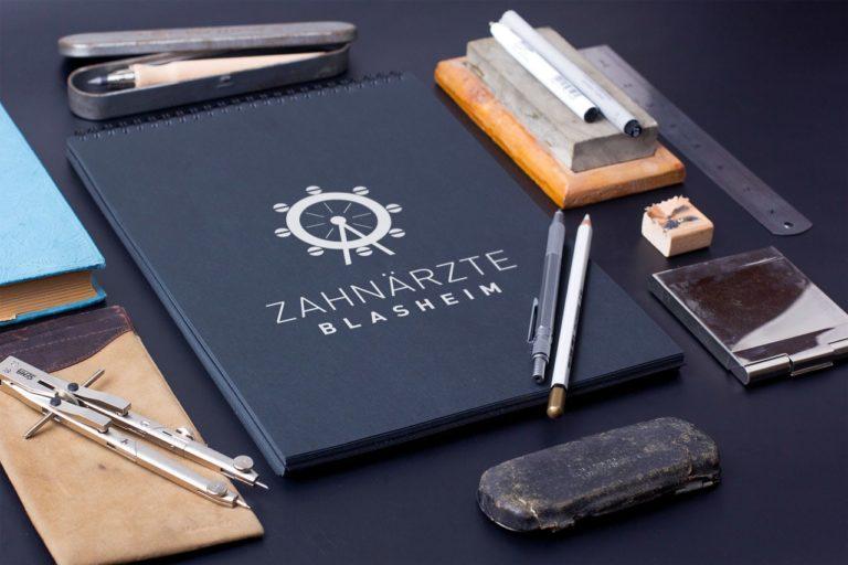 Zahnärzte Blasheim · Webdesign · Praxislogo · Praxismarketing · Grafikstudio Carreira · Susi Carreira · Werbeagentur Bad Oeynhausen · Minden · Bünde