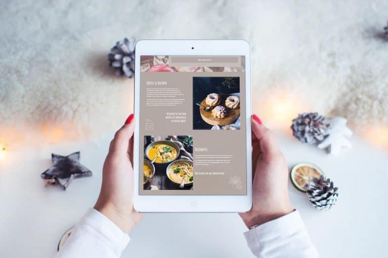 Café Waldkristall · Webdesign · Flyer-Design · Grafikstudio Carreira · Susi Carreira · Werbeagentur Bad Oeynhausen · Minden · Bünde
