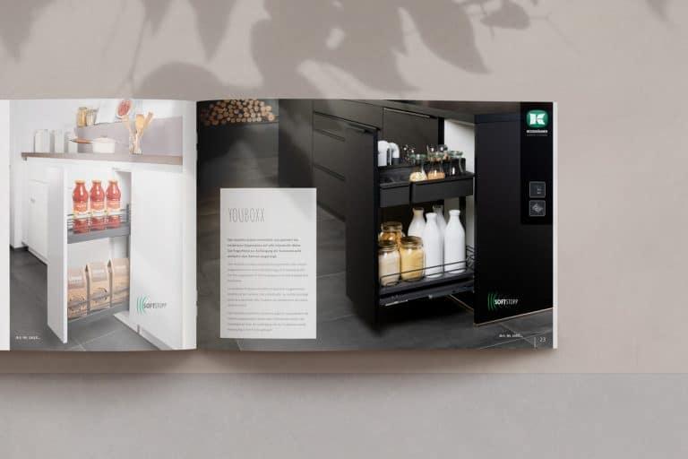artego Küchen · Journal Broschüre Katalog · Grafikstudio Carreira · Susi Carreira · Werbeagentur Bad Oeynhausen · Minden · Bünde